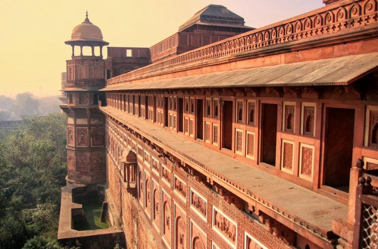 Достопримечательности Индии - Красный форт