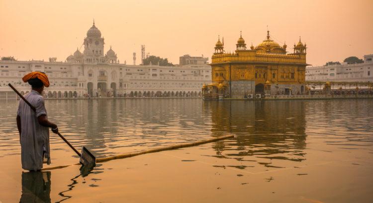 Достопримечательности Индии - Золотой Храм Хармандир Сахиб