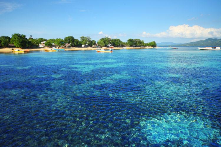 Достопримечательности Индонезии - Национальный парк Бунакен