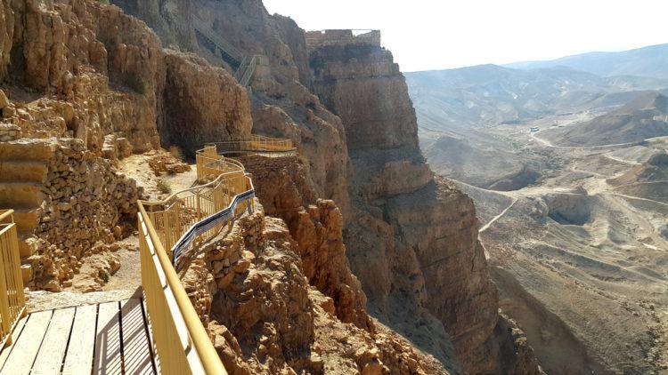 Достопримечательности Израиля - Крепость Масада