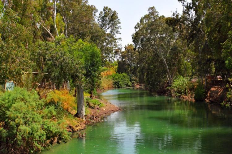 Достопримечательности Израиля - Река Иордан