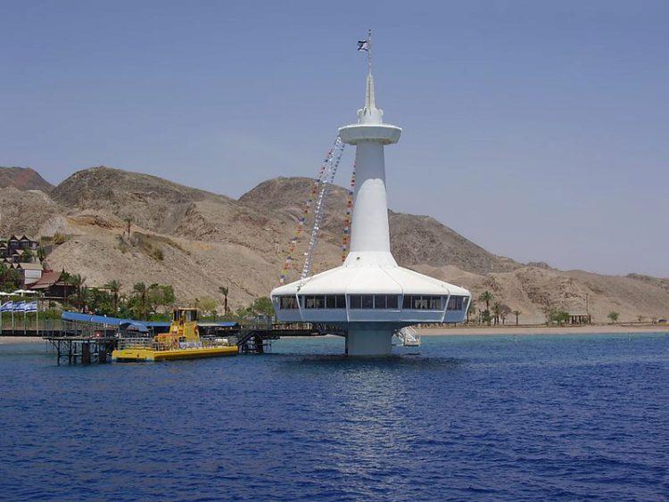Достопримечательности Израиля - Подводная обсерватория