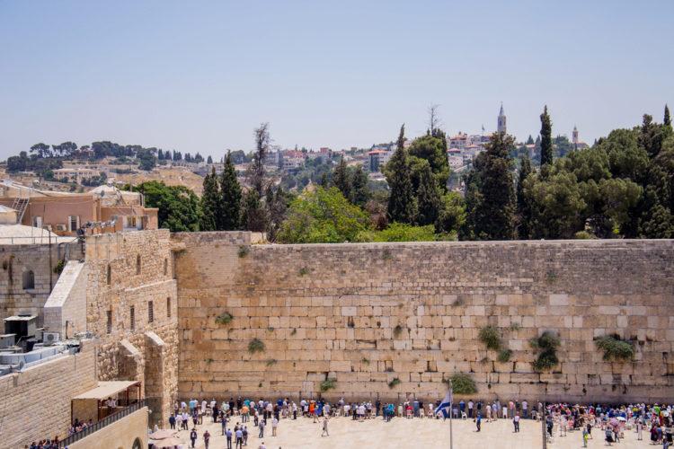 Достопримечательности Израиля - Стена Плача