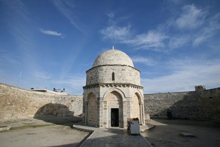 Достопримечательности Израиля - Храм Вознесения на Елеонской горе