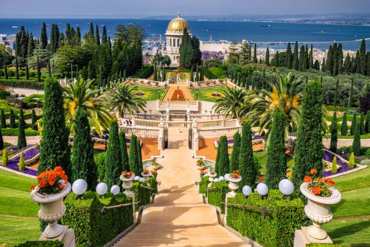 Достопримечательности Израиля - Бахайские сады