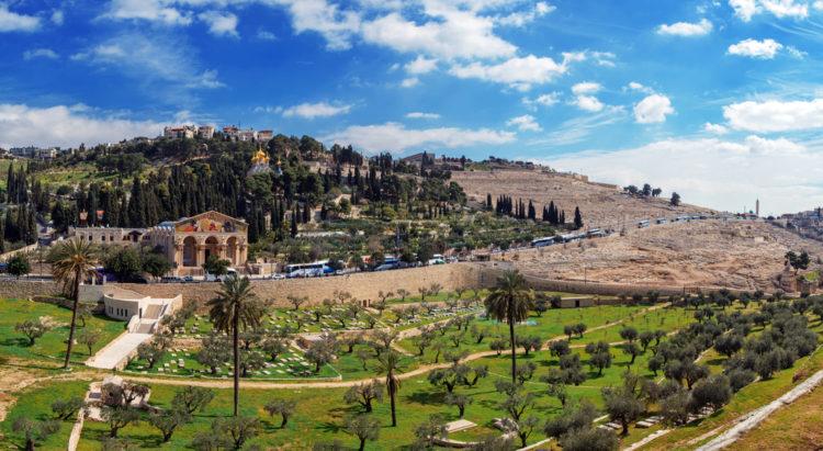 Достопримечательности Израиля - Масличная гора