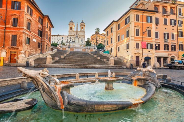 Достопримечательности Италии - Испанские ступени