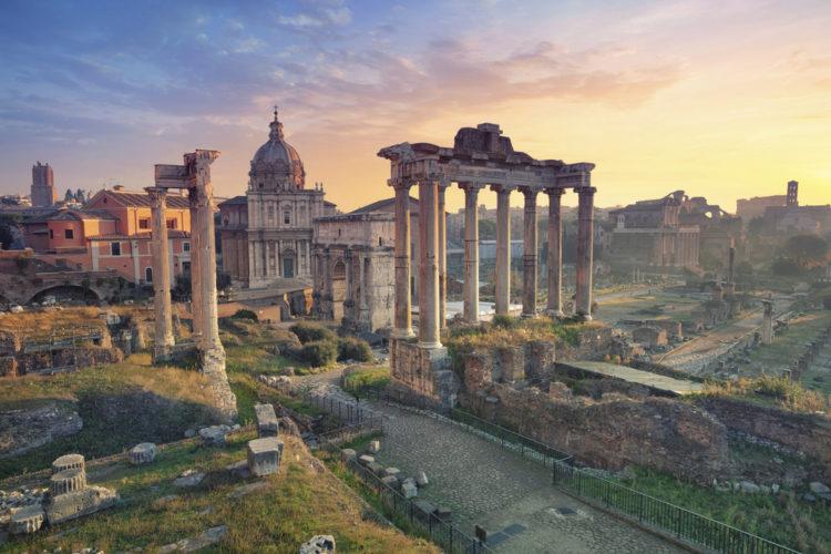 Достопримечательности Италии - Римский форум