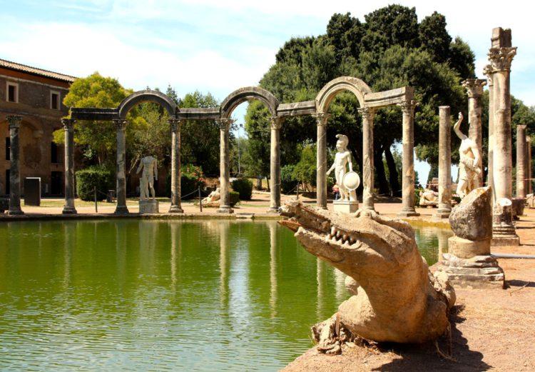 Достопримечательности Италии - Вилла Адриана в Тиволи