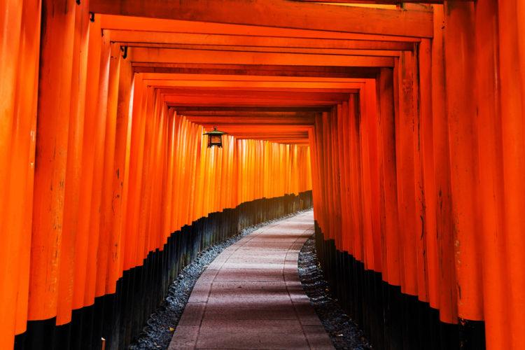 Достопримечательности Японии - Храм Фусими-инари