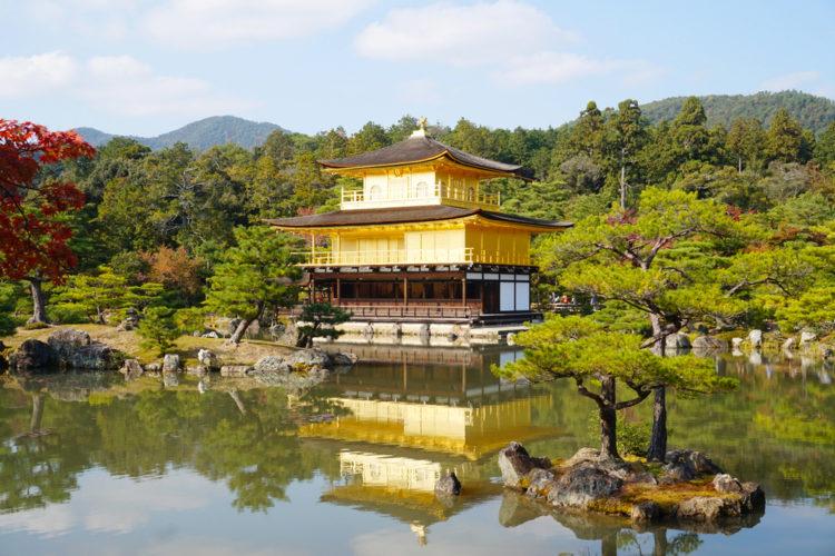 Достопримечательности Японии - Золотой павильон