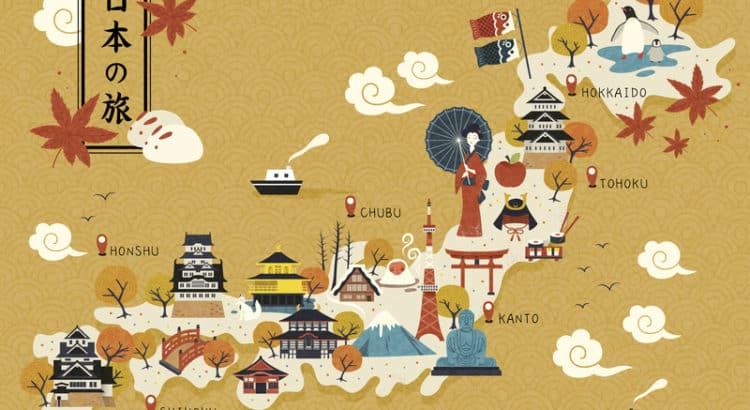 Достопримечательности Японии, что посетить в Японии