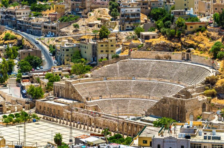 Достопримечательности Иордании - Римский амфитеатр
