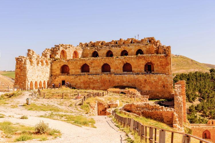 Достопримечательности Иордании - Крепость Эль-Карак