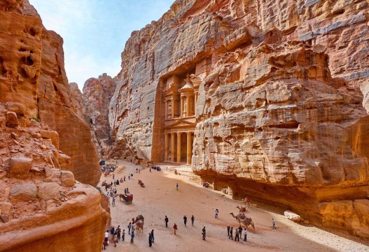Достопримечательности Иордана - Древний город Петра