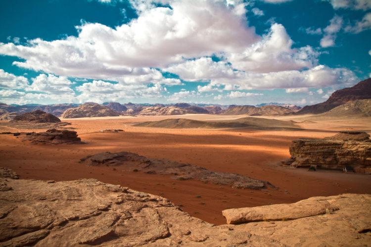 Достопримечательности Иордании - Пустыня Вади Рам