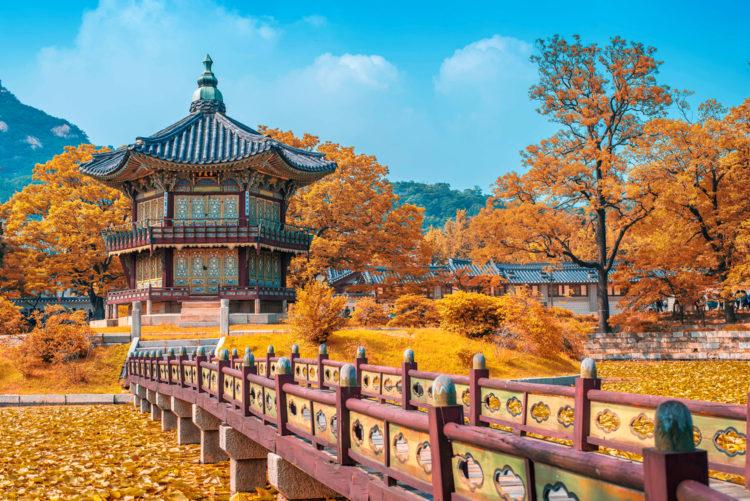 Достопримечательности Южной Кореи - Кёнбоккун