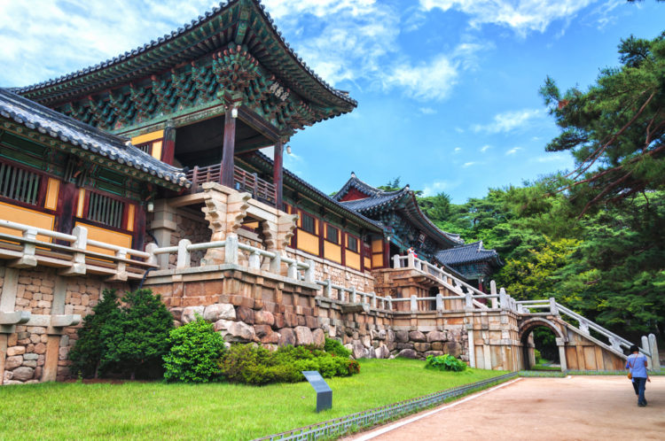 Достопримечательности Южной Кореи - Храм Пуль Гукса