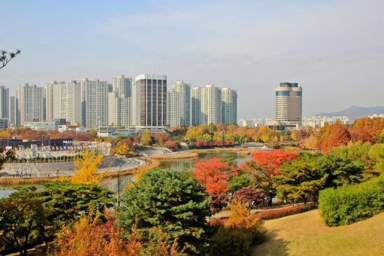 Достопримечательности Южной Кореи - Олимпийский парк