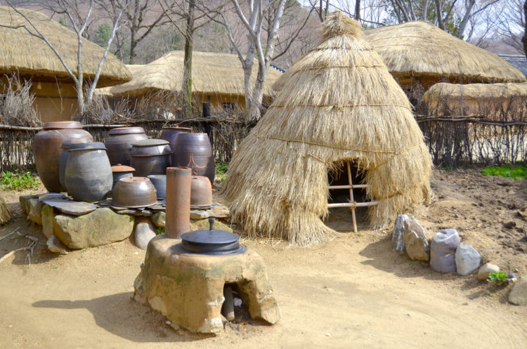 Достопримечательности Южной Кореи - Корейская национальная деревня