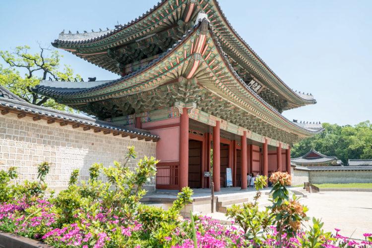Достопримечательности Южной Кореи - Дворец Чхандоккун