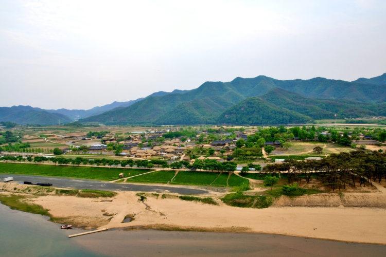 Достопримечательности Южной Кореи - Деревня Хахве