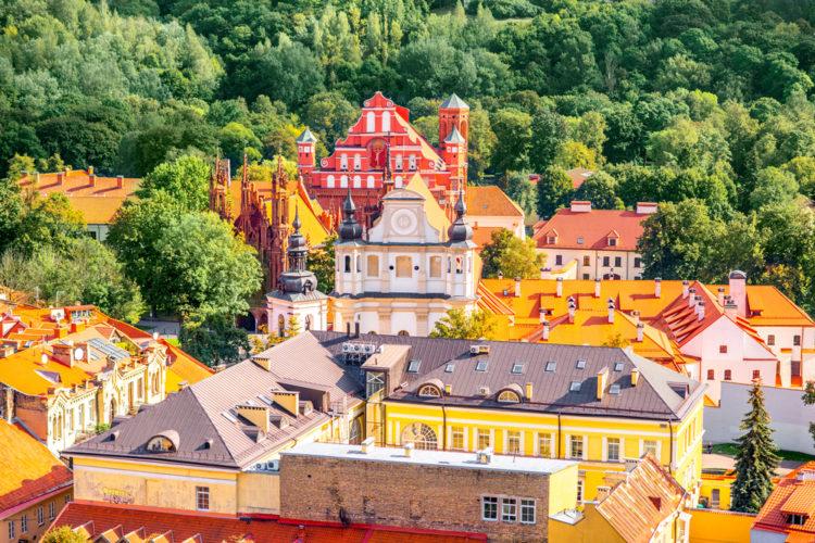 Достопримечательности Литвы - Старый город Вильнюса