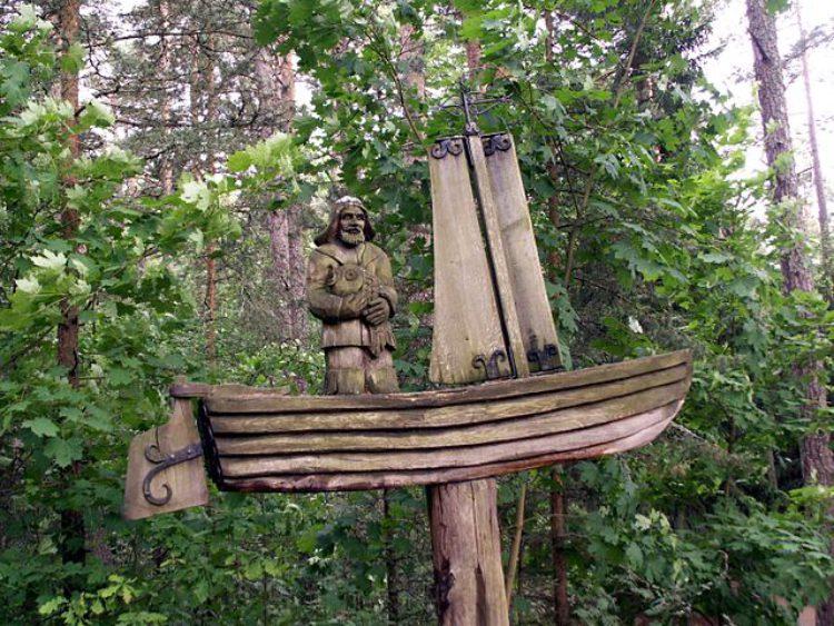 Достопримечательности Литвы - Гора Ведьм