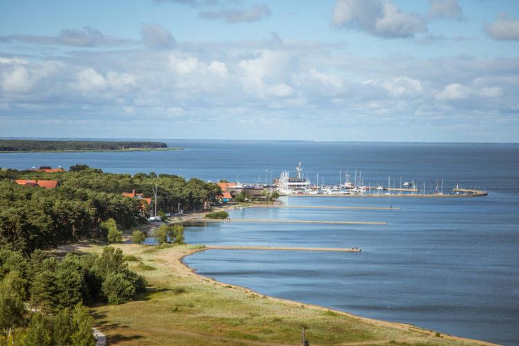 Достопримечательности Литвы - Город-курорт Неринга