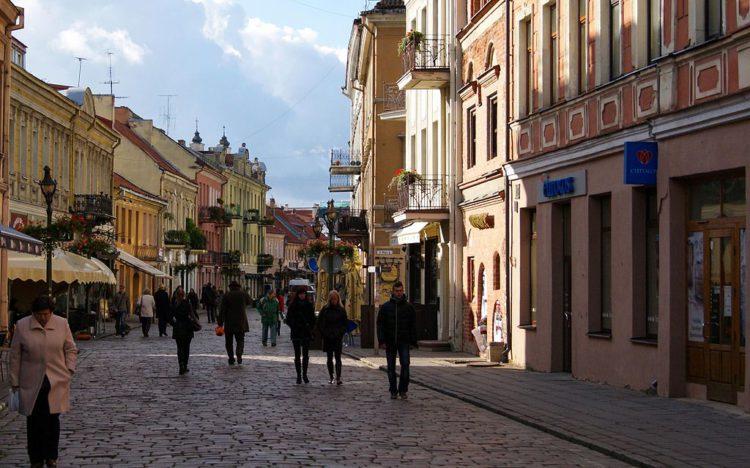 Достопримечательности Литвы - Старая часть города Каунас