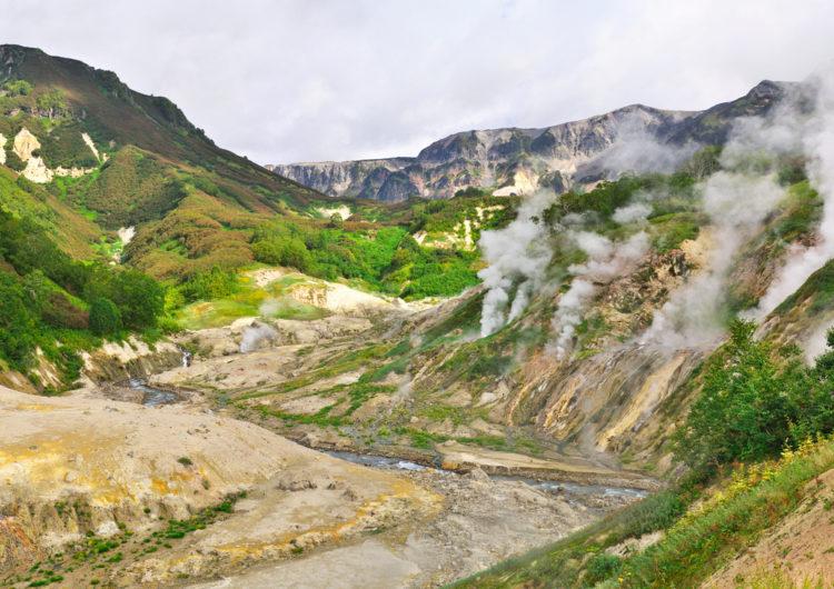 Достопримечательности России - Долина гейзеров