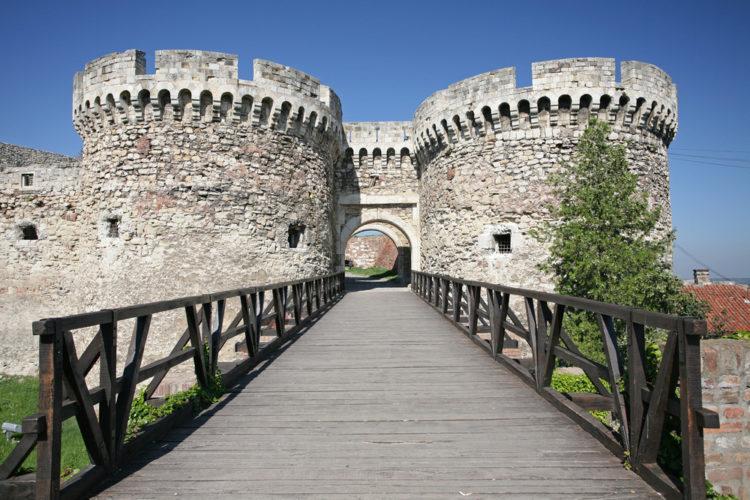 Достопримечательности Сербии - Белградская крепость