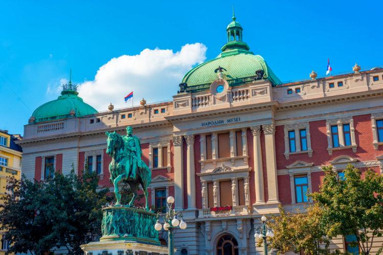 Достопримечательности Сербии - Национальный музей Сербии