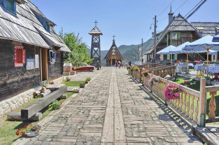 Достопримечательности Сербии - Дрвенград