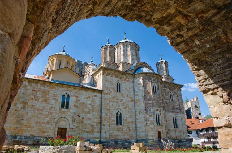 Достопримечательности Сербии - Монастырь Манасия