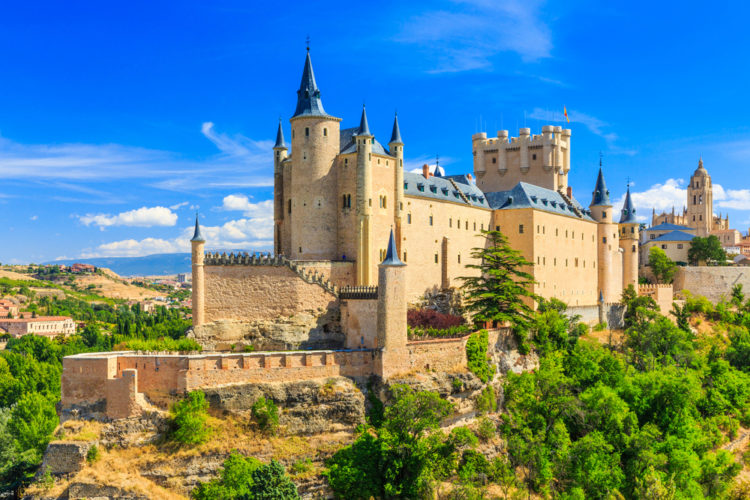 Достопримечательности Испании - Город Сеговия