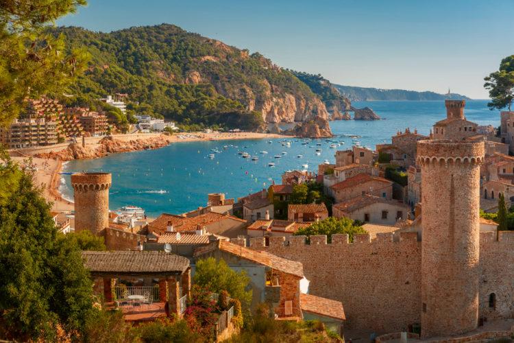 Достопримечательности Испании - Коста-Брава в Каталонии