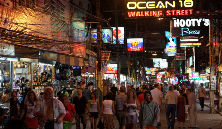 Достопримечательности Таиланда - Улица Уокинг-стрит
