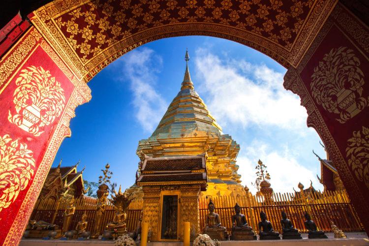Достопримечательности Таиланда - Монастырь Ват Пратхат Дой Сутхеп