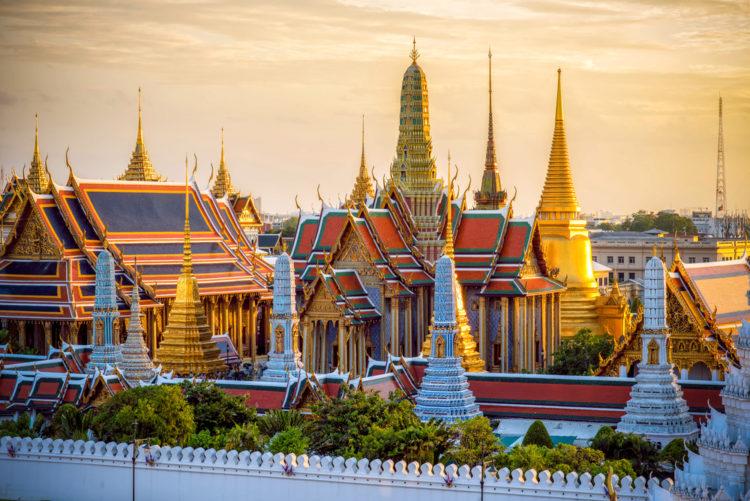 Достопримечательности Таиланда - Королевский дворец в Бангкоке