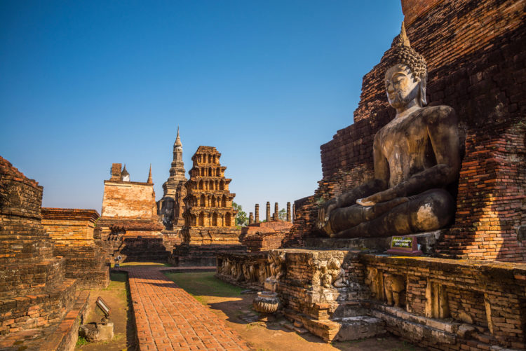 Достопримечательности Таиланда - Исторический город Сукотаи