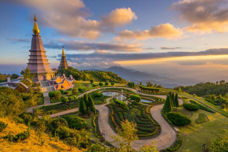 Достопримечательности Таиланда - Национальный парк Дой Интханон