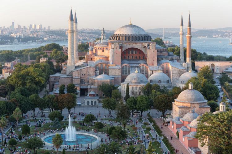 Достопримечательности Турции - Собор Святой Софии в Стамбуле