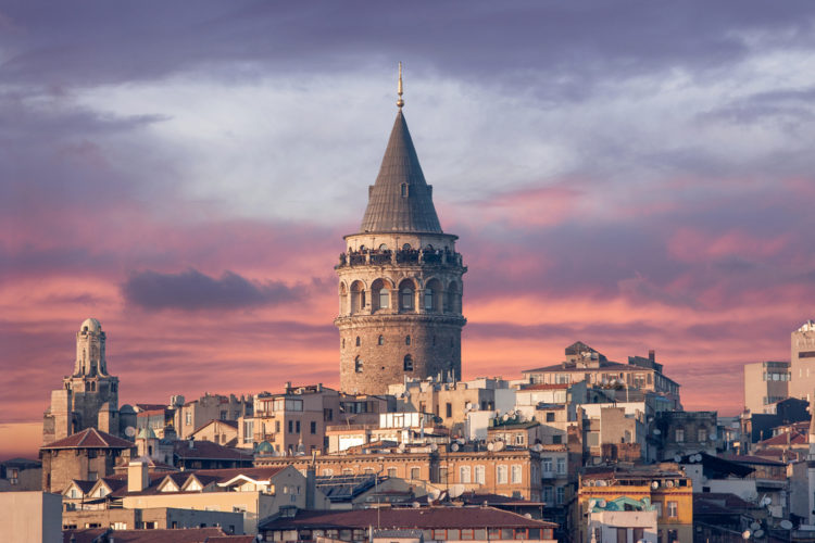 Достопримечательность Турции - Галатская башня