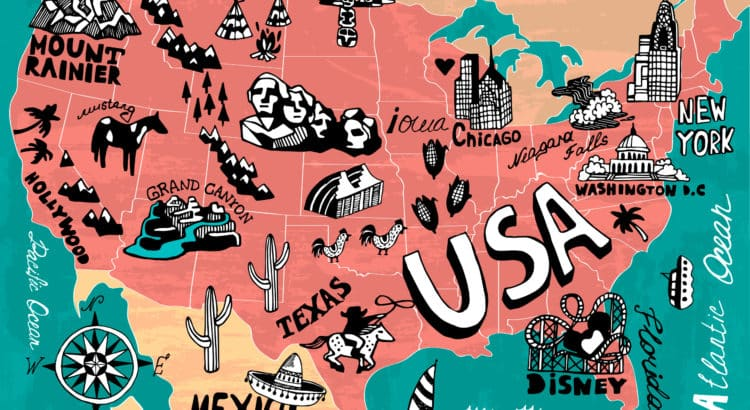Достопримечательности США, что посетить в США