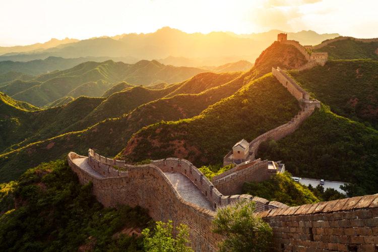 Великая Китайская стена - достопримечательности Китая