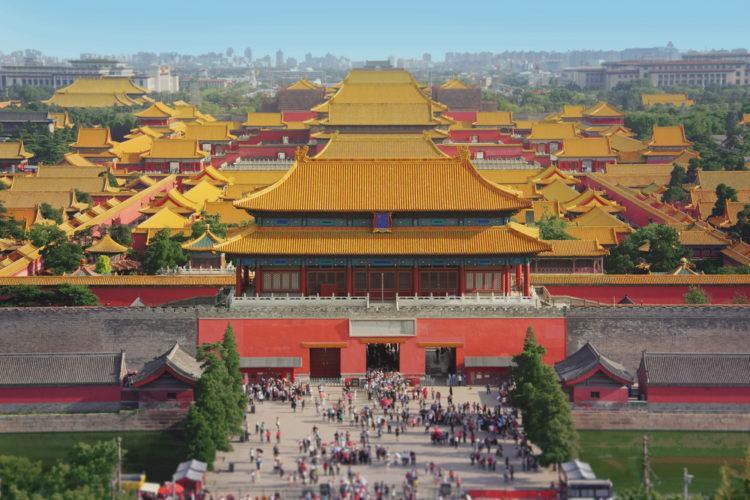 Запретный город - достопримечательности Китая