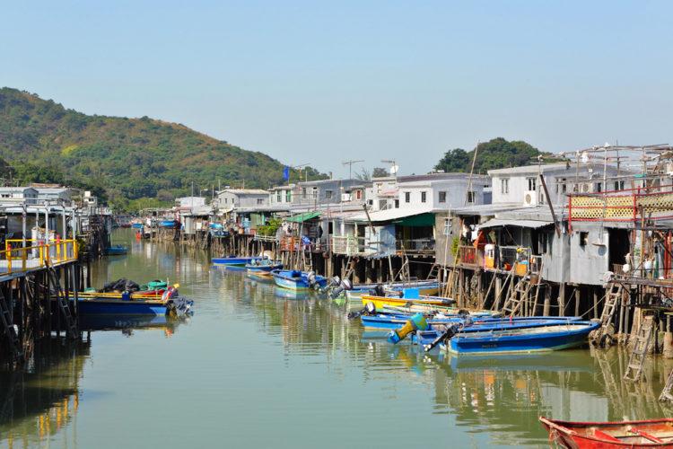 Рыбацкая деревня Тай О - достопримечательности Гонконга