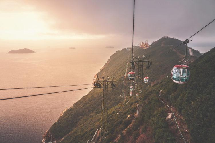 Океанический парк - достопримечательности Гонконга