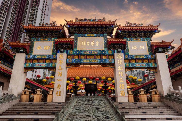 Храм Вонг Тай Син - достопримечательности Гонконга